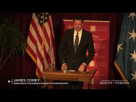 George Washington Leadership Lecture - A Conversation with James Comey HD
