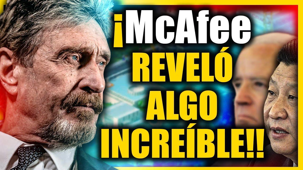 ❗❗ John McAfee Revela un Gran SECRETO Del Poder Mundial Y las Empresas de Tecnología [URGENTE]]