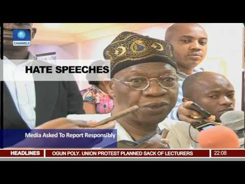 News@10: News@10: Presidency Debunks Rumours Of Division 13/