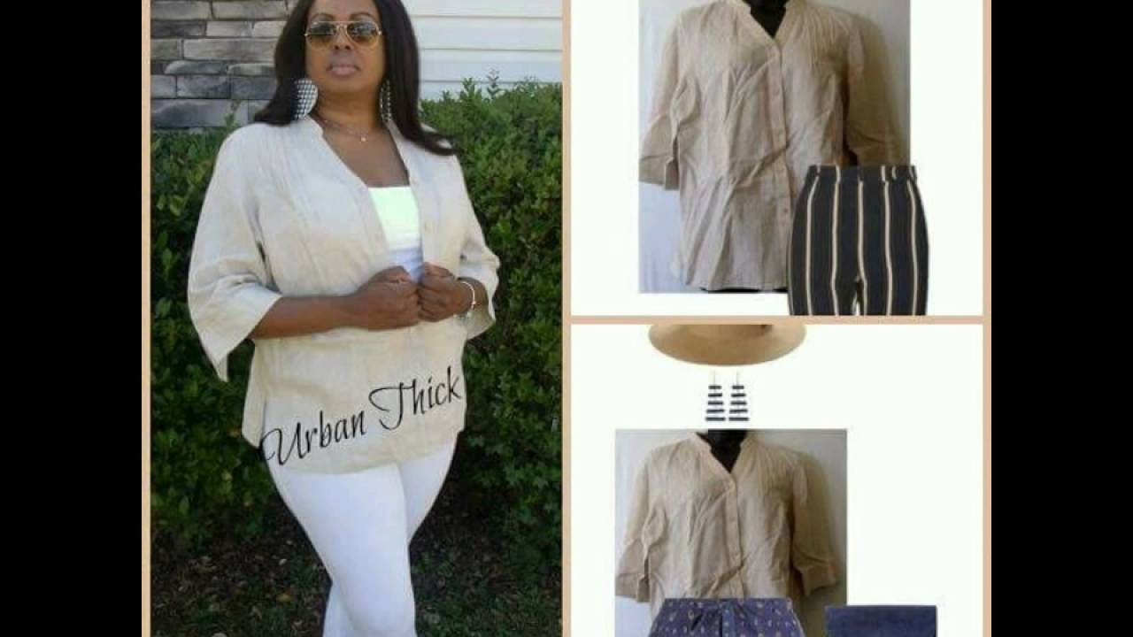 Urban Thick Meets Fashion With Picture Styling Of Current Plus Size  Clothing Inventory
