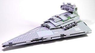 Лего Звездные Войны Имперский звездный Разрушитель Развивающие видео сборки из конструктора Лего.