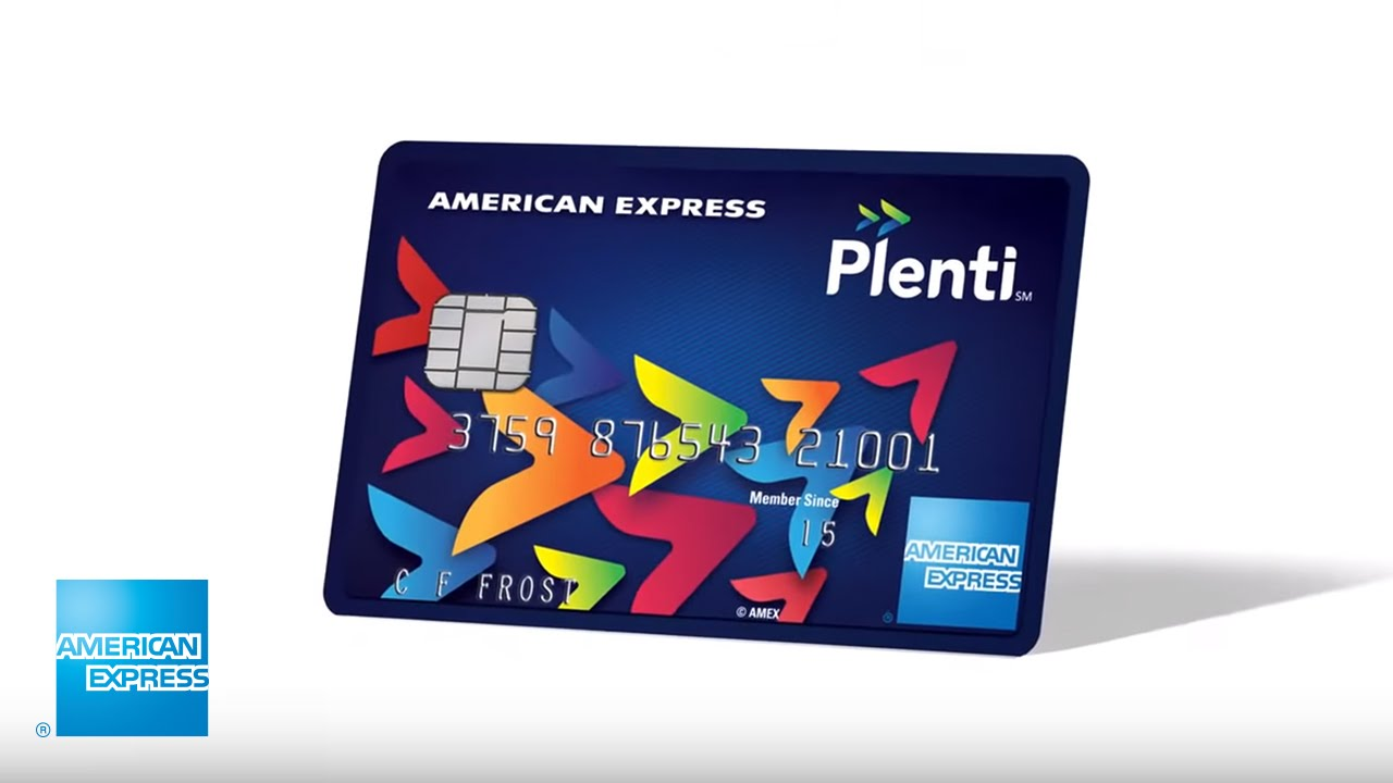 The Plenti Credit Card from Amex - YouTube