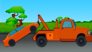 Tow Truck Color Ride | Color Song For Children | Toy Surprise Tow Truck Unboxing