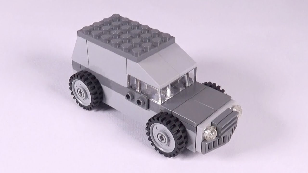 Lego Car (001) Building Instructions - LEGO Classic How To Build - DIY