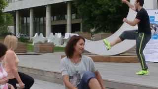 Бесплатный урок танцев в парке Музеон, Москва