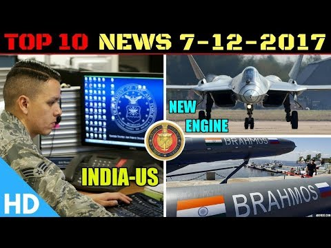 Indian Defence Updates : FGFA New Engine,Brahmos Scramjet Hypersonic,India US Cyber Cooperation