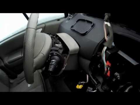 Снятие вентилятора печки Renault Scenic 2
