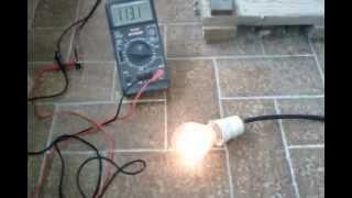 Cyclette generatrice di corrente Bucchianico