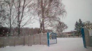 Въезд на лыжную базу в Чернигове.(Пришло время посетить ещё одну достопримечательность в Чернигове., 2015-12-29T06:37:51.000Z)