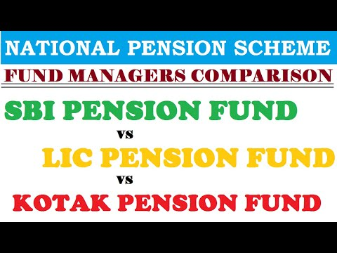 National Pension Scheme | Fund Managers Comparison | SBI vs LIC vs Kotak Pension Fund