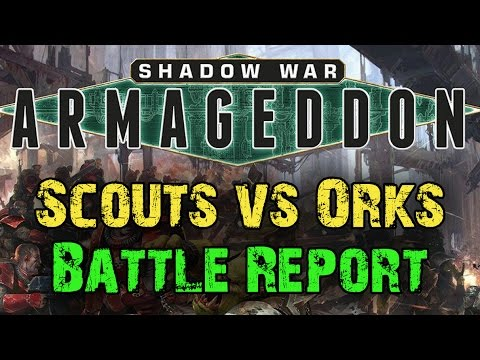 NEW Shadow War: Armageddon Game 1 - Space Marines vs Orks