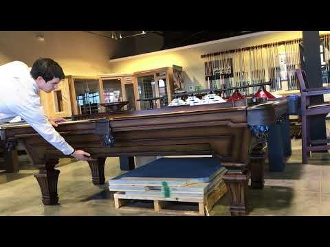 Olhausen Hampton Pool Table Drawer - Everything Billiards Charlotte