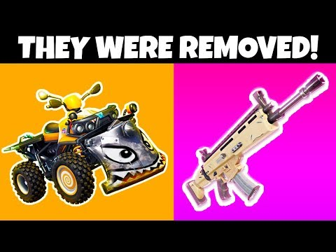 8 Things REMOVED From Fortnite SEASON X!