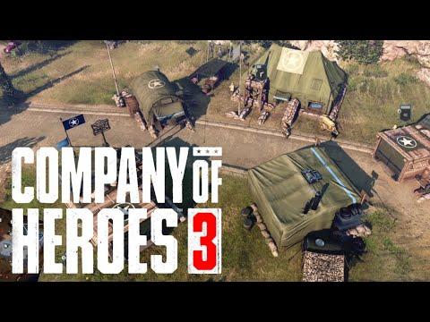 COMPANY OF HEROES 3 - GAMEPLAY ESPAÑOL  