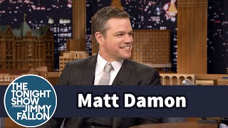 Matt Damon Used to Fly Trump Air to Get to NYC Auditions