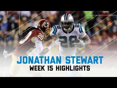 Jonathan Stewart Hurdles, StiffArms, & Truck Sticks Panthers Over Redskins  NFL Week 15 Highlights