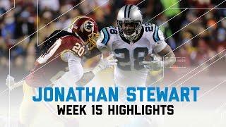 Jonathan Stewart Hurdles, Stiff-Arms, & Truck Sticks Panthers Over Redskins | NFL Week 15 Highlights