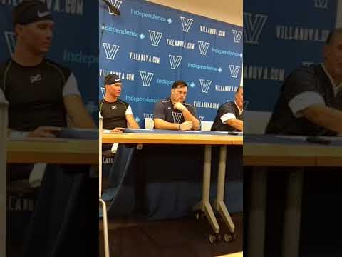 Villanova Football Coach Mark Ferrante Post Game vs Lafayette 9/16/17