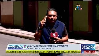 Estamos en vivo Noticiero Impacto VTV Meridiano  @VTV Somos Todos Honduras