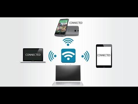 Как раздать интернет по WIFI  (вай фай) с ноутбука  Windows 10, 8, 7 Создаём точку доступа Wifi