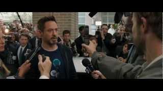 «Железный человек 3» (2013) Дублированный Трейлер №2 HD