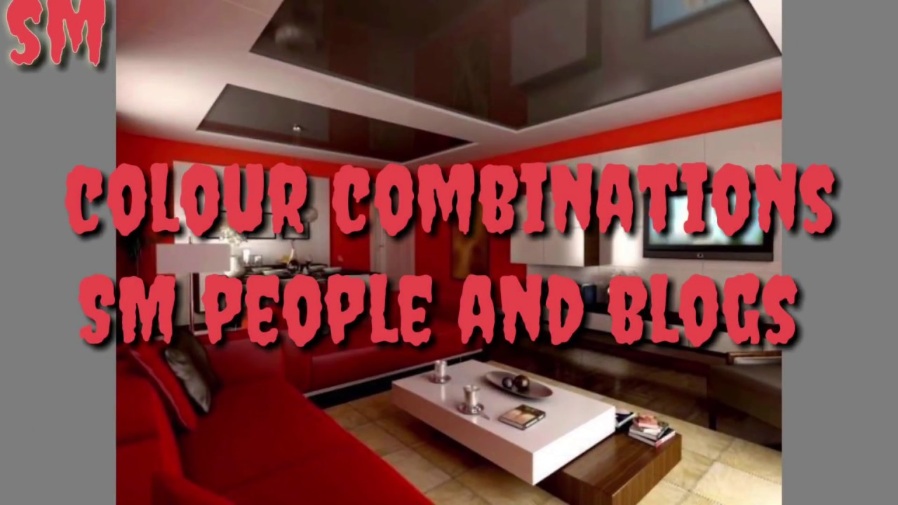 Best ideas!  colour combinations  for home 2018  SM people and blogs