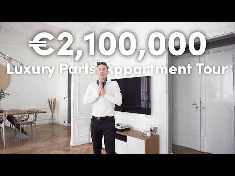 This is what €2.1 million BUYS YOU in PARIS | LUXURY PROPERTY TOUR