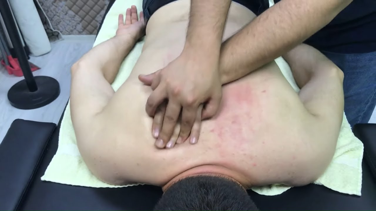 ASMR the best body massage + back, arm, foot, leg, elbow, sleep massage +asmr turkish barber massage