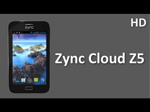 Zync Cloud Z5 mobile Price and Specifications new Zync mobile with 5 inch Display