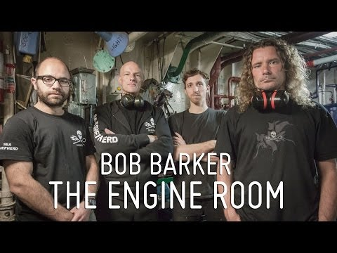 Meet the Crew - The Bob Barker engine room with chief engineer Erwin Vermuelen