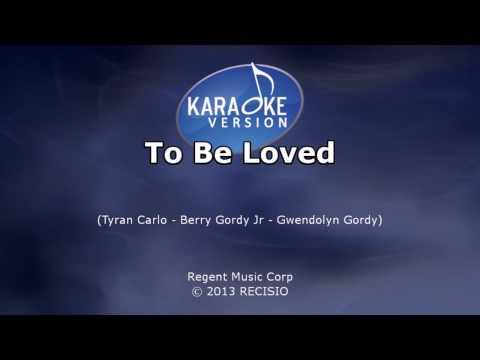 Karaoke: Jackie Wilson - To Be Loved