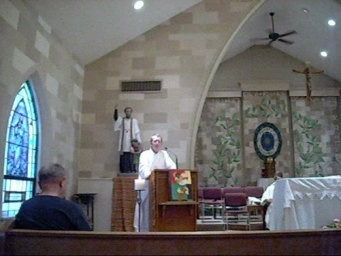 Deacon Skip Olson Homily Weds Oct 15 2008