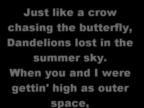 Shinedown The Crow and the Butterfly (lyrics)