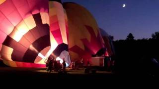 Night Glow at the Spirit of Boise Balloon Classic