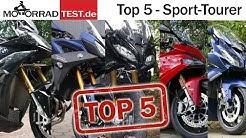Top 5 Sport Tourer | Vergleich der 5 besten Motorräder bei den Sport Tourer