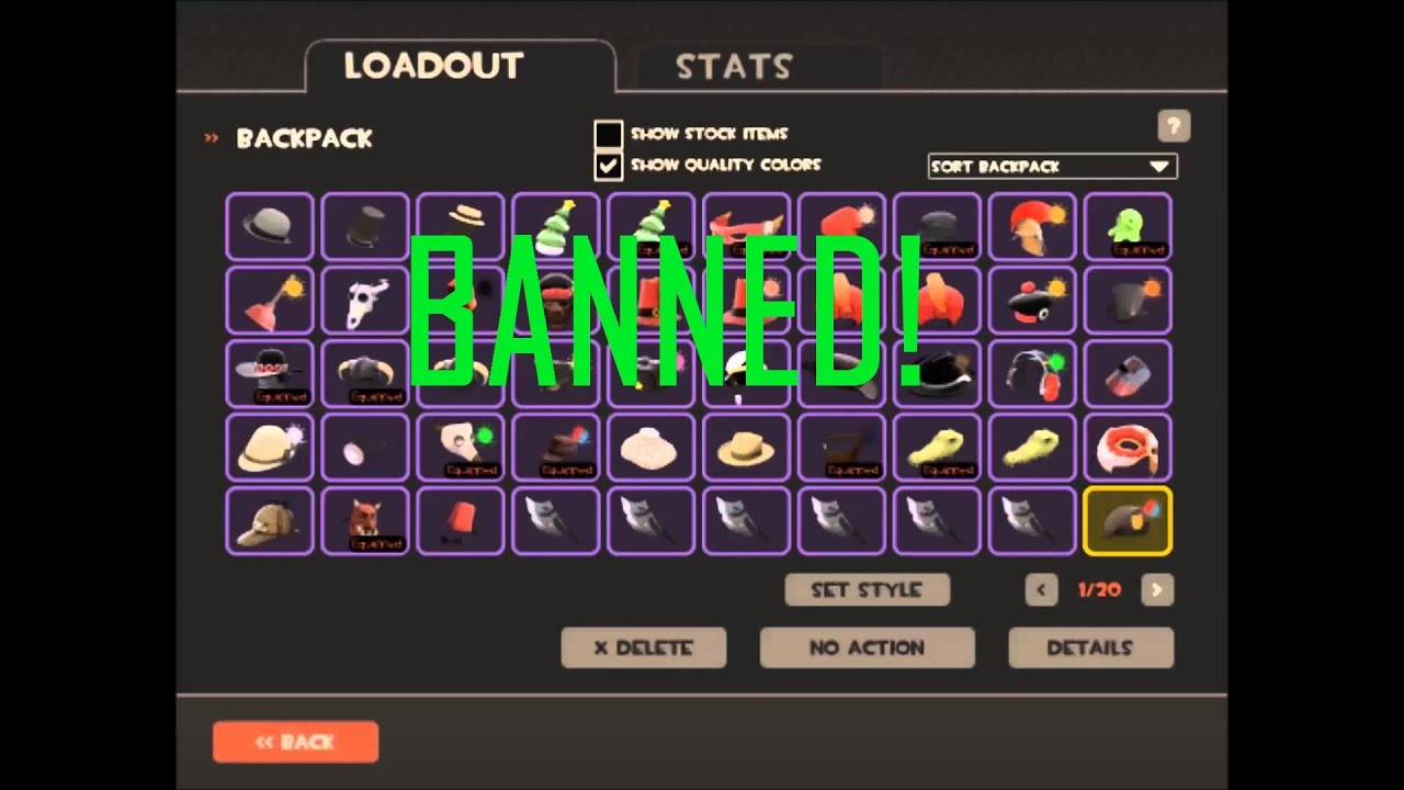 Richest Tf2 Banned Backpacks Youtube