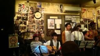 家族バンド『こおろぎ会』〜こおろぎのうた〜@ふぉの2015.4.10