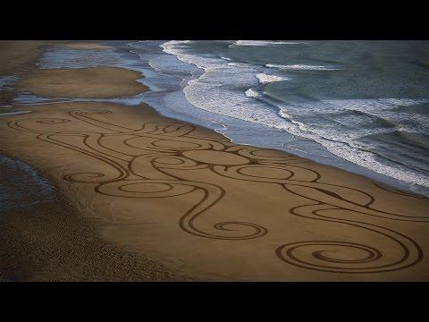 OM KALI Sand Art and Mantra