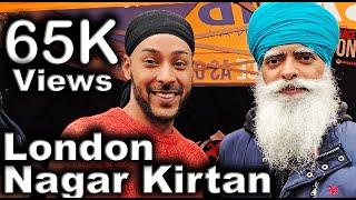 UK Sikh Punjabi Vaisakhi Nagar Kirtan Vlog in Southall, London | Part 1 | Travel Vlog