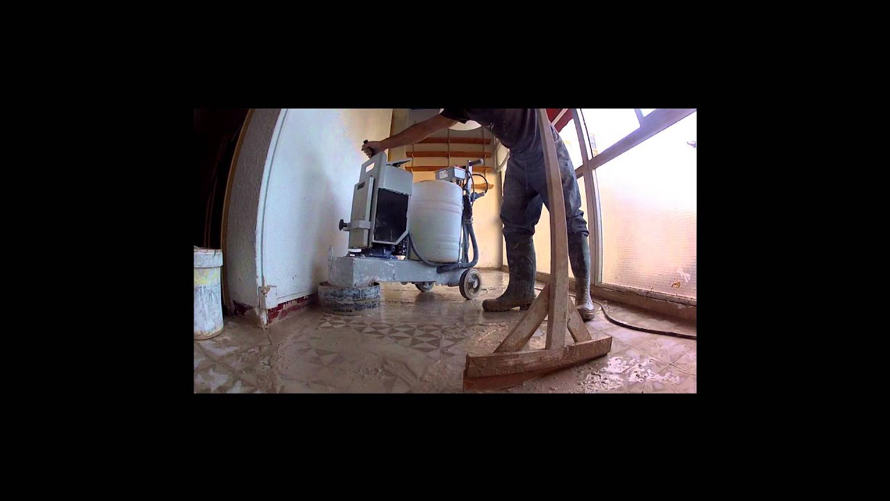Pulidor de mosaico hidr ulico pulir y abrillantar suelos - Pulidor de suelos ...