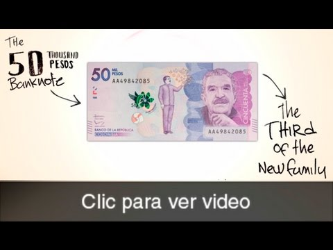 The Central Bank of Colombia launches the 50 thousand peso banknote