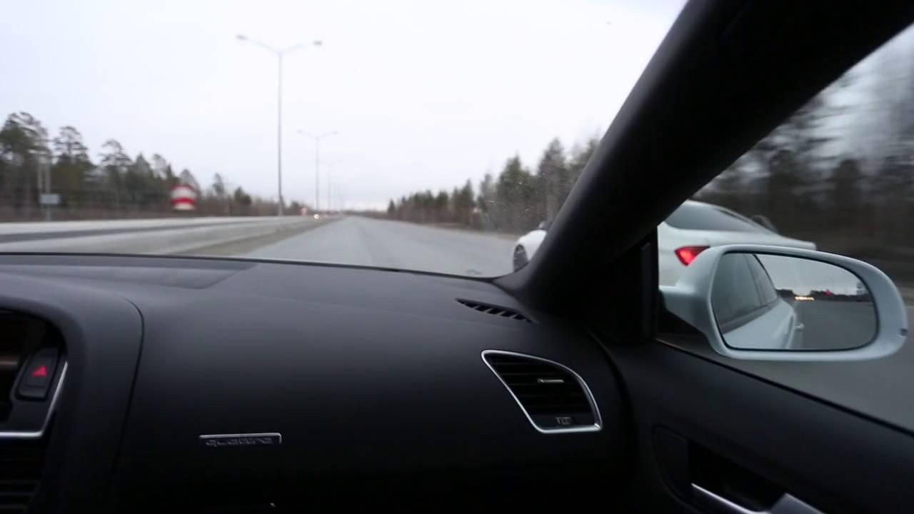 Audi A5 VS BMW 320 F30 St1 720  YouTube