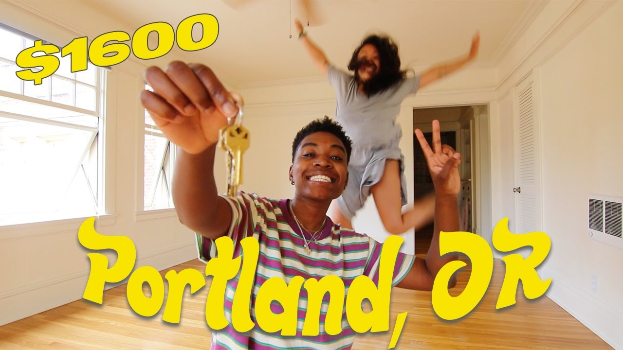 OUR 1 BEDROOM EMPTY APARTMENT TOUR =) // Portland, OR