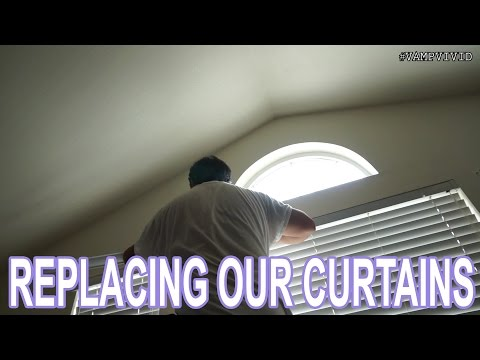 08302015 - Replacing Our Curtains   Vlog #618