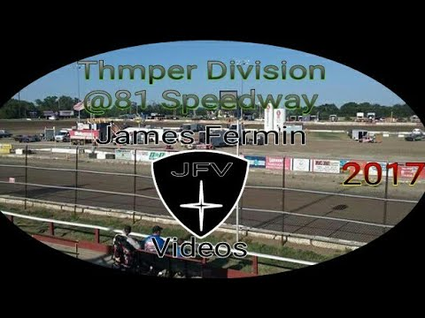 Thumpers #29, Feature, 81 Speedway, 2017