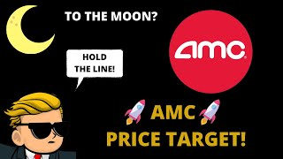 AMC PRICE TARGET! AṀC TO THE MOON? MUST WATCH!