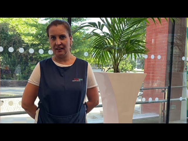 Interview with the Managing Director of Fairway Support Services, Lyn Evans.