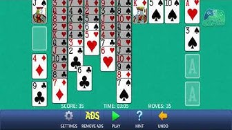 FreeCell Solitaire Classic – free cell card game Android Gameplay