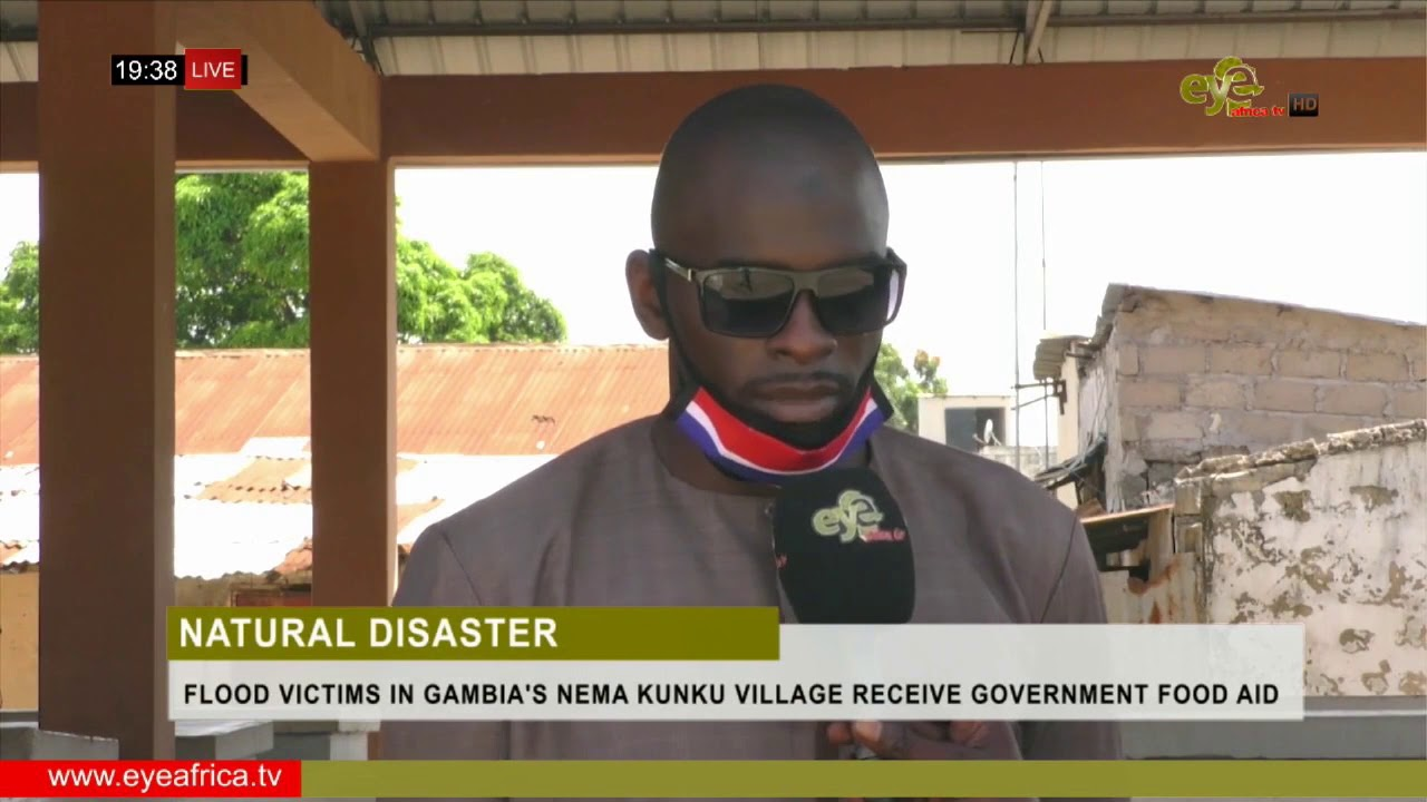 Download FLOOD VICTIMS IN GAMBIA'S NEMA KUNKU VILLAGE RECEIVE GOVERNMENT FOOD AID