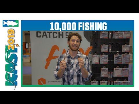 10,000 Fish Sukoshi Bug & Saw Craw | ICast 2019